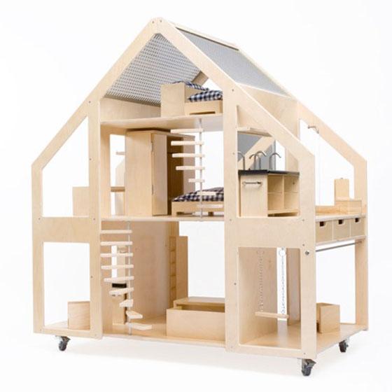 Кукольный дом своими руками из фанеры чертежи фото 828