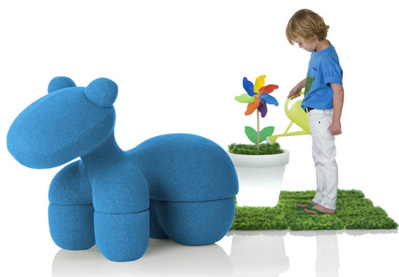 replica of pony chair by eero aarnio giddy up bellissima kids