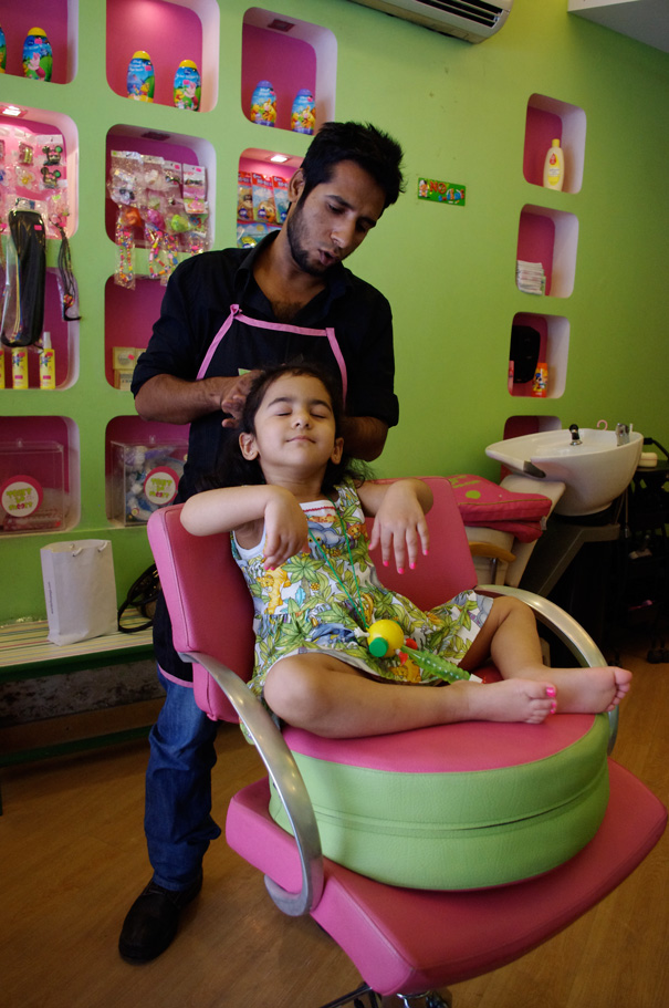 Tears to cheers children 39 s salon mumbai bellissima for Childrens hair salon