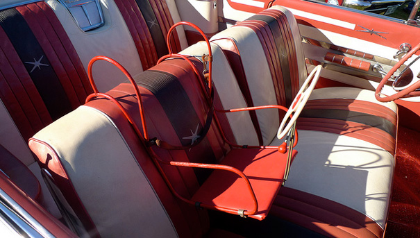 Antique Bus Seats : More vintage child safety bellissima kids