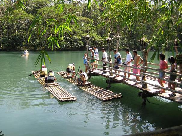 Waterfall Restaurant At Villa Escudero Philippines
