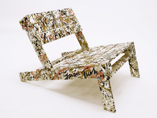 Recycled furniture chairs made from recycled materials - Sillones con palets ...