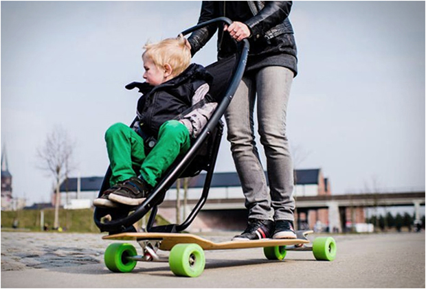 the longboard stroller bellissima kids bellissima kids