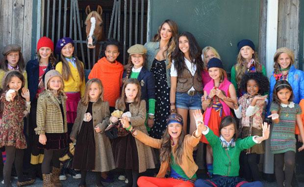 Fashion Week Brings You Ralph Lauren Girls Fall Winter