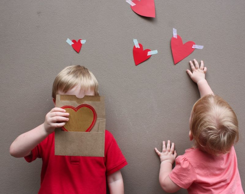 january 31st 2014 - Valentines Day With Kids
