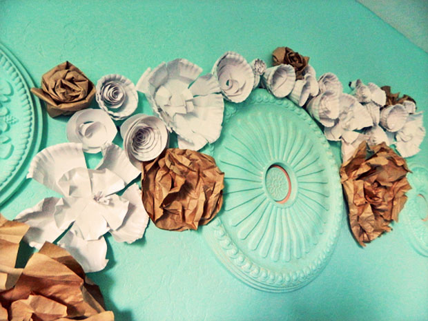 DIY-Paper-Plate-Rolled-Flowers-4