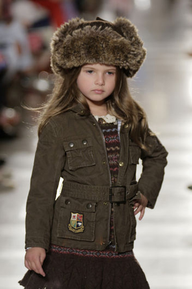 Alicia keys 39 son egypt models for ralph lauren fall 2014 for Ralph lauren kids
