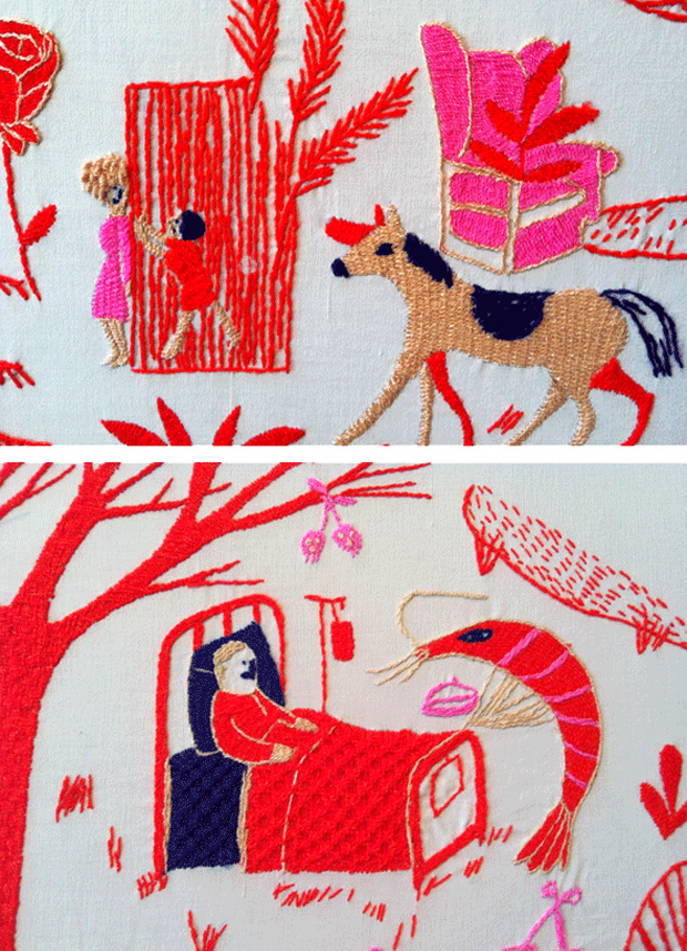 Amazing Embroidery From The Hasta Mostla Exhibition Mexico