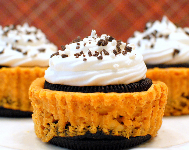 Pumpkin-Oreo-Cheesecakes