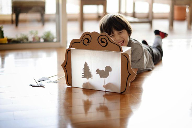 Shadow Puppet Theater for Kids