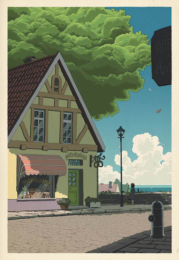 If-Studio-Ghibli-film-posters-were-made-as-traditional-Japanese-wood-cut-prints-3